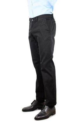 Pantaloni chinos uomo in drill stretch
