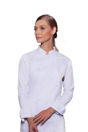 Giacca da cuoco unisex con logo Foody